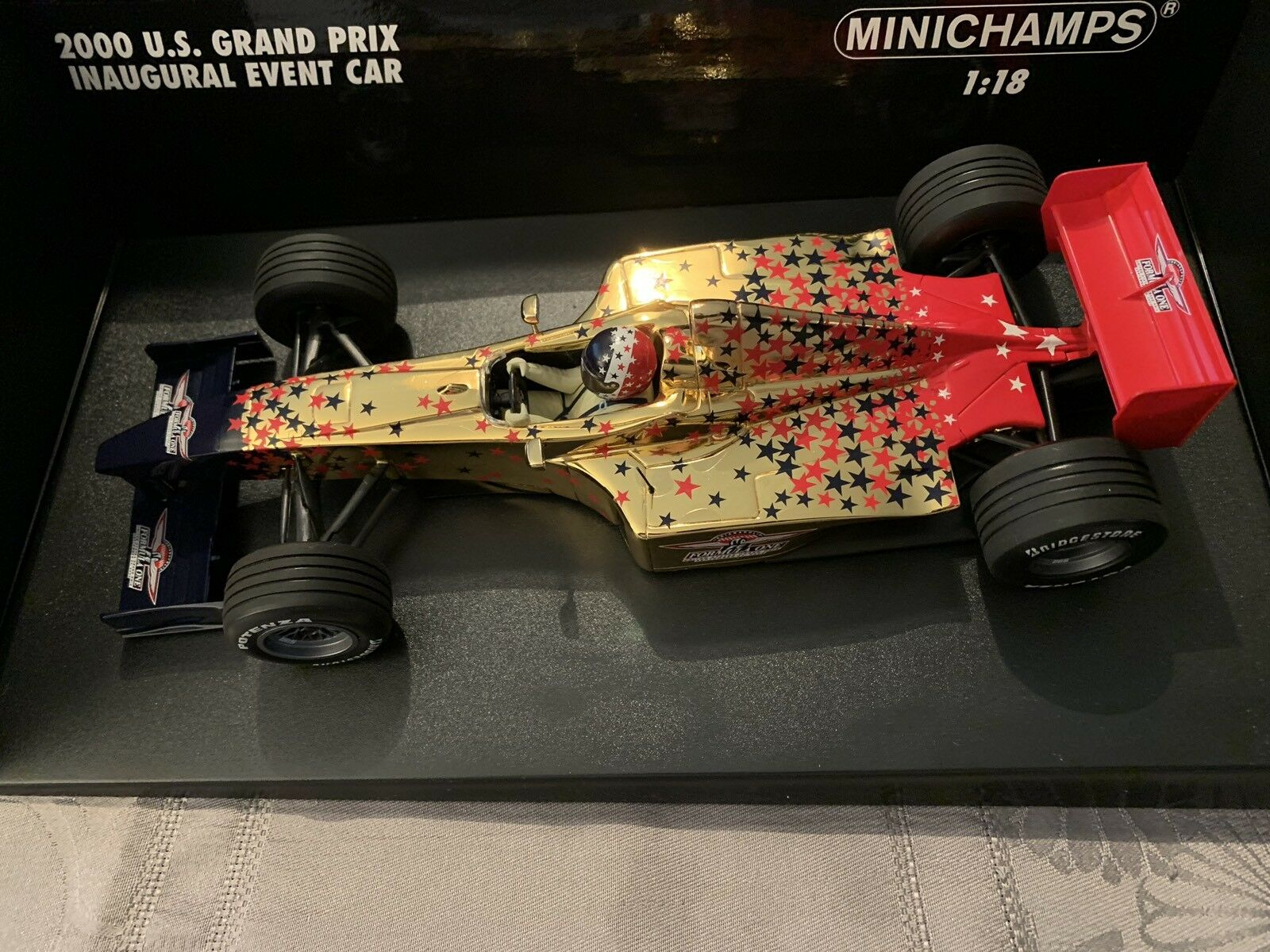 1 18 ème   IMS EVENT CAR GP USA 24 SEPTEMBRE 2000 - MINICHAMPS Réf. 100633 F1