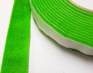 Green-Sticky-selbstklebend-Filz-Moebel-Pad-Rollen-fuer-harte-Oberflaeche-Streifen-1m
