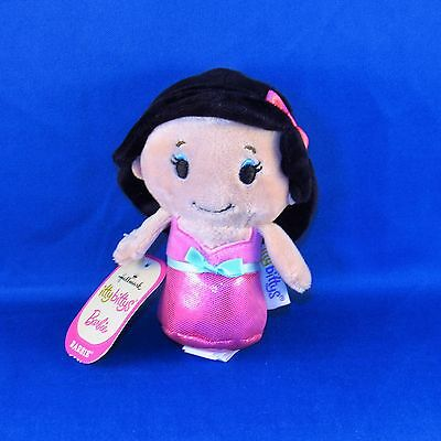 Hallmark - Itty Bittys - Barbie in Pink Dress - Asian - Small Plush - NEW