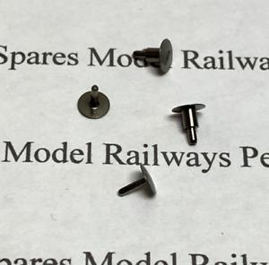 Hornby X6878 Railroad Class A1 Pk4 A3 Round Buffers Silver