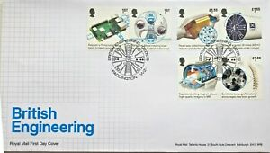 2019-GB-BRITISH-ENGINEERING-First-Day-Cover-Stamps-Mini-Sheet-FDC-02-05-2019