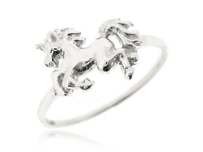 Unicorn Ring 925 Sterling Silver Horse Ring Fantasy Fairy