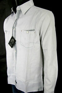 English-Laundry-Shirt-Blaque-Label-Style-ELW-1209-Hannan-Black-100-Cotton