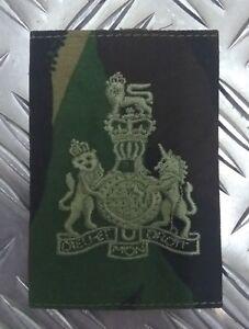 Genuine British Army Woodland Camo WARRANT OFFICER Rank Slide / Epaulette - NEW