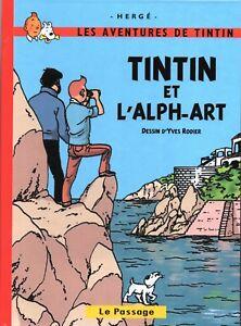 Tintin-et-l-039-Alph-Art-2-autres-histoires-RODIER-et-Herge-2018-PASTICHE