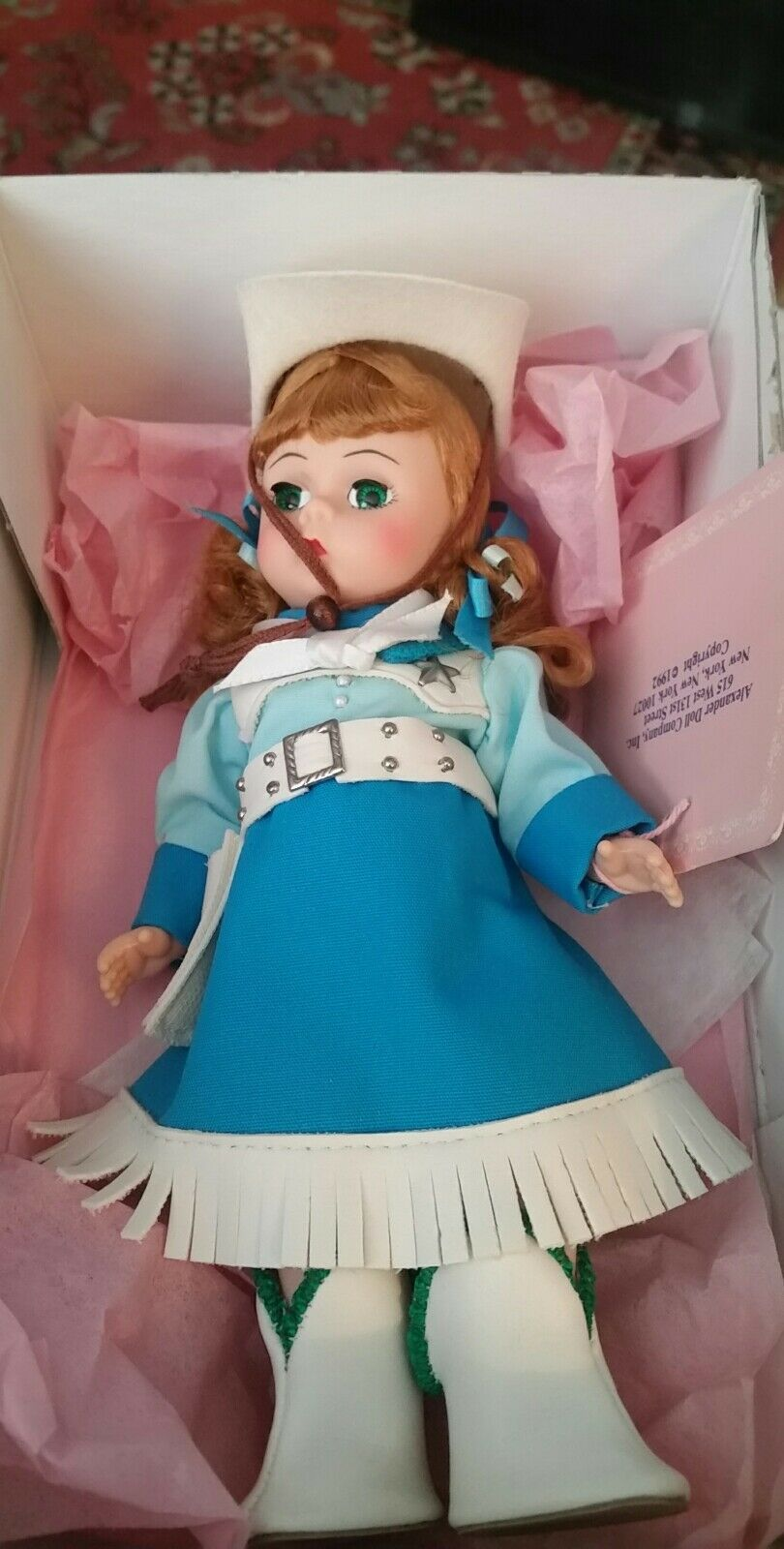 Madame Alexander Mouseketeer  Round Up Day   doll in original box