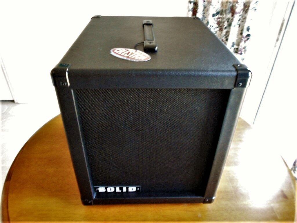 Solid 1x12 Guitar Speaker Cabinet 18  Deep for Modern Metal Tones Celestion K100