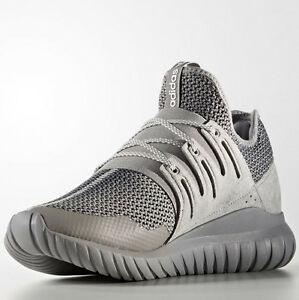 a48fb8439315 Adidas S76718 Men Tubular Radial Running shoes grey white sneakers ...