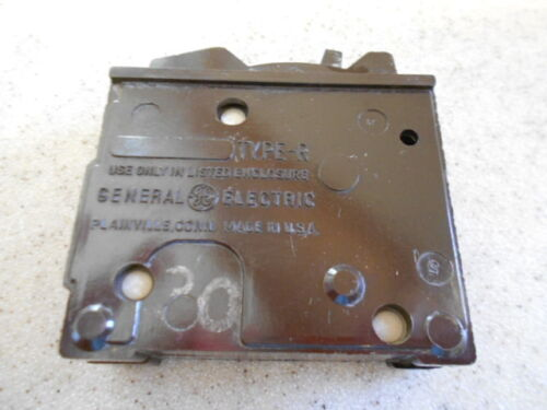GE  30 AMP 1 POLE TYPE R GENERAL CIRCUIT BREAKER