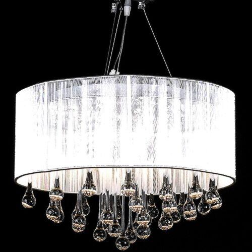 Kristall Kronleuchter Lüster Deckenleuchte Hängeleuchte Lampe 3-flammig NEU Glas