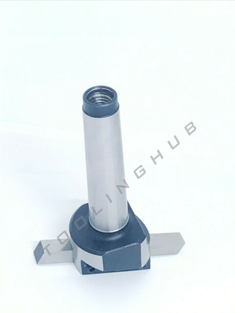 MT2 Fly Cutter Holder With HSS Tool Bit M10 Thread 2MT Hi Quality Tools
