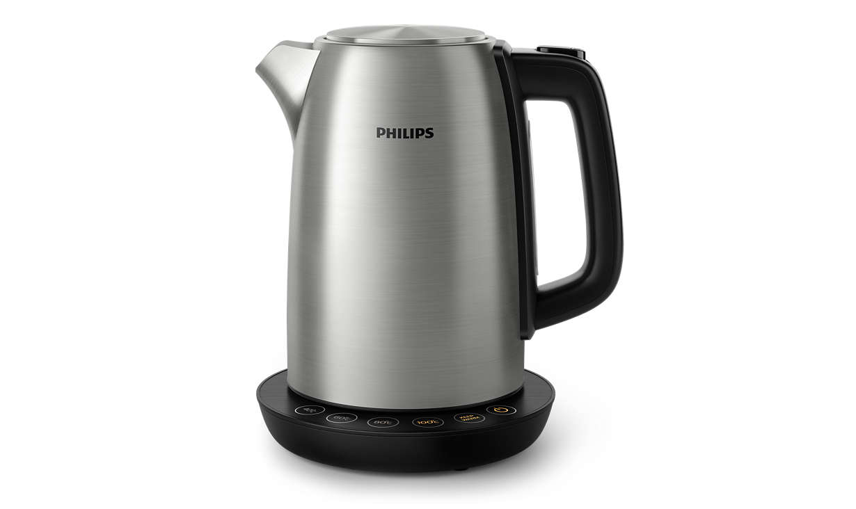 Philips hd9359 90 Avance Collection chauffe-eau avec régulateur de température, 1,7 L