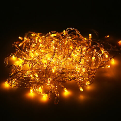 20M//30M//50M//100M Xmas Garden Party Wedding LED Lamps Starry String Fairy Lights