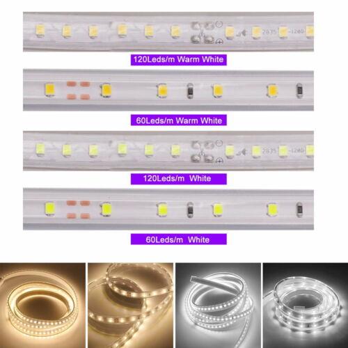 2835 LED Stripe Lichtschlauch Schlauch Streifen Unterbauleuchte Beleuchtung 230V