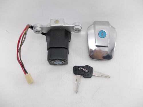 Yamaha RX-S RXS RX135 RXK RX100 RX-King Ignition Switch Fuel Tank Cap Set Lock