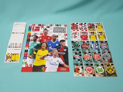 TOPPS lega federale Sticker 2018//2019 100 Sticker scegliere a 18//19