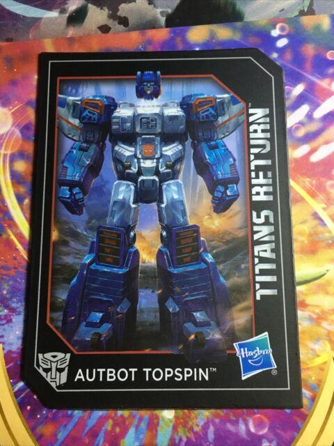 Transformers Titans Return Windblade Collectible Rare Tech Spec Card