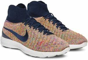 save off ced4e 72708 Details about Nike Lunar Magista II FK Flyknit Multi Color 852614-403 100%  Authentic Men Shoes