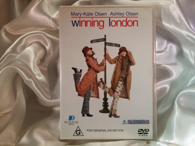 Winning London (DVD, 2002) MARY KATE OLSEN, ASHLEY OLSEN REGION 4