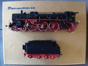 Adroit Locomotive à Vapeur Allemande Br 18 316 Metropolitan échelle Ho Avec Le Meilleur Service
