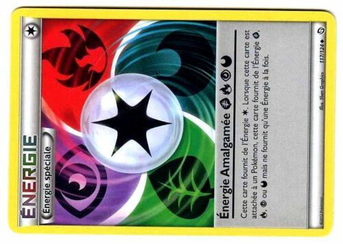 DRAGONS EXALTES UNCO N° 117//124 ENERGIE AMALGAMEE NOIR /& BLANC POKEMON