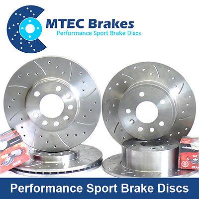 BMW 3 E92 320i 03/07- Front Rear Brake Discs+Pads