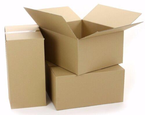 Faltkartons Versandkarton 450x300x300 mm 1-wellig Schachtel NEU Menge wählbar