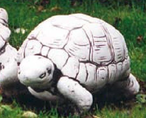 Schildkröte (S224) Gartendeko Tierfiguren Steinguss Dekoration Steinfigur 21 21 21 cm 5a7296