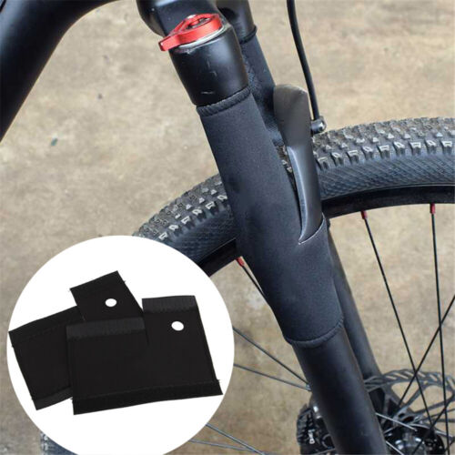 Mountain Bike Front Fork Protective Pad Frame Wrap Cover Protector Bicycle k