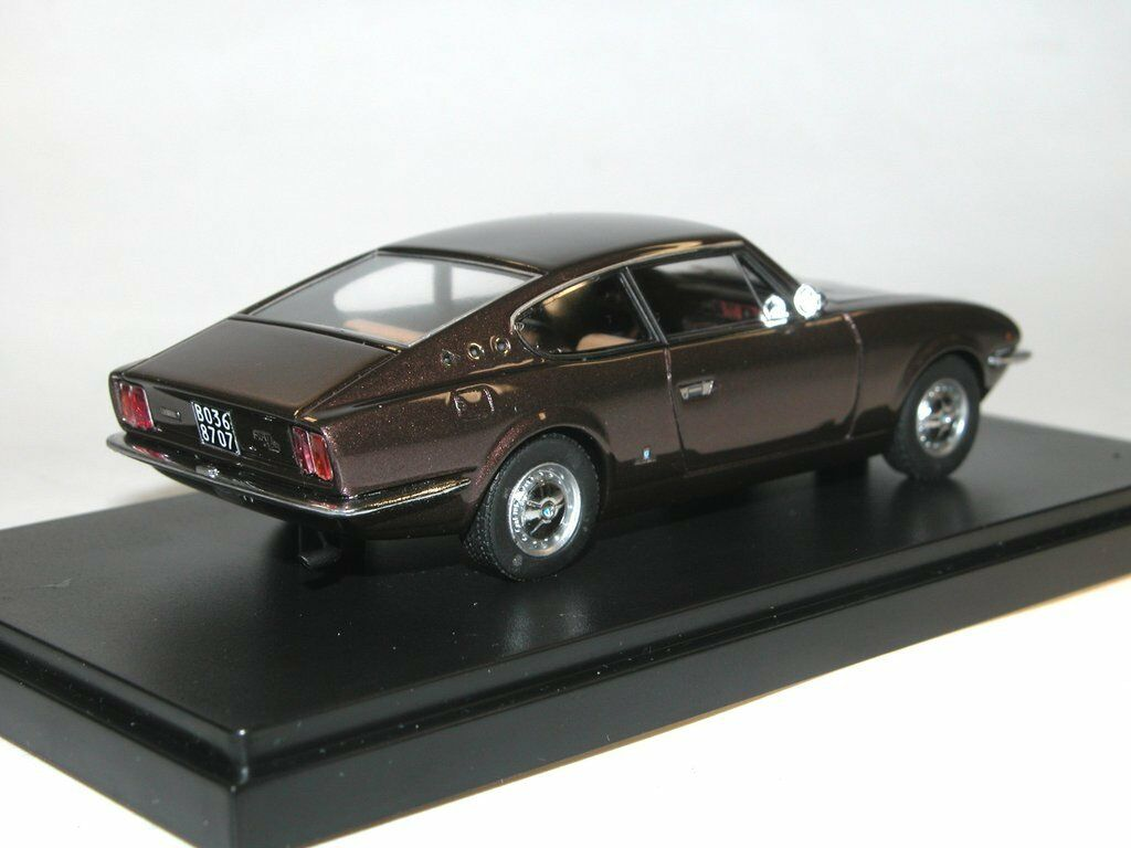 Autocult 05005 1967 Vignale FIAT 125 Samantha Coupé marron marron marron 1 43 Limited Edition f454c6