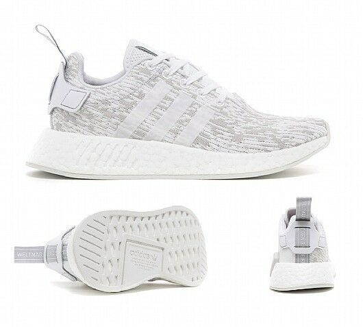 BY8691, adidas Shoes Women, – Nmd_R2 W white/white/grey, Women, Shoes 2017, Textile aab983
