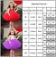 Kids-Baby-Girls-Red-Party-Dress-Princess-Wedding-Flower-Girls-Fancy-Tutu-Dress thumbnail 15
