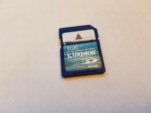 UK SELLER KINGSTON 1GB Full Size SD Card for Camera 3DS WII