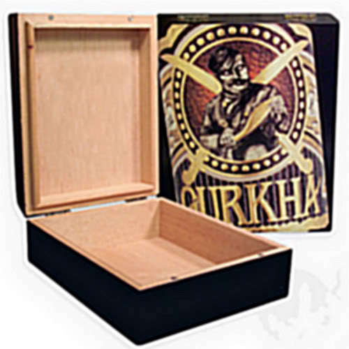 Cedar-Lined ~GURKHA_LEGEND_HUMIDOR~ Holds_20_Cigars~ MIB ~FREE_PRIORITY_SHIPPING
