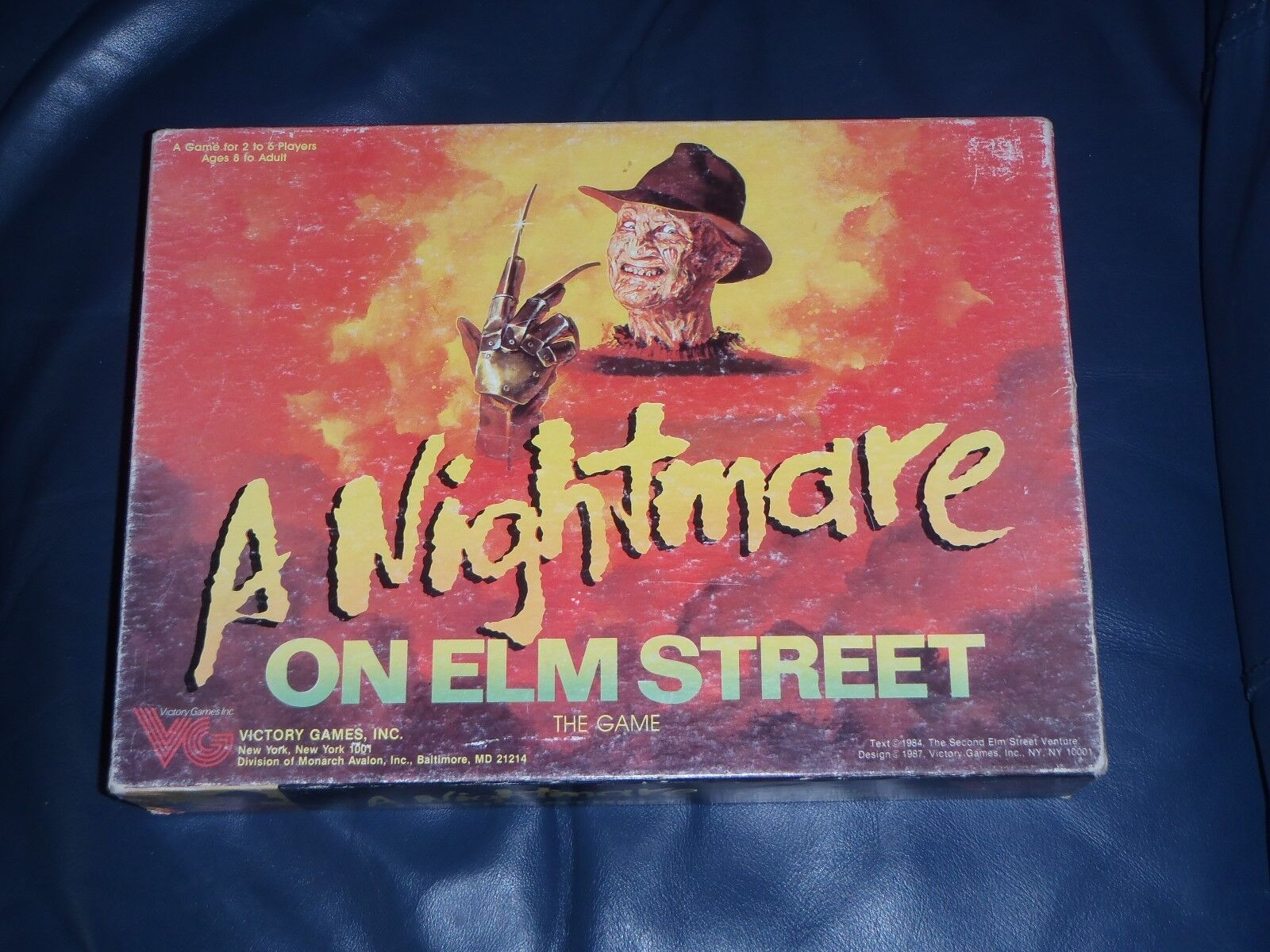 Victory Victory Victory A NIGHTMARE ON ELM STREET Board Game cab5b1