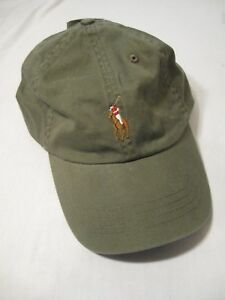 Hat Polo Adjustable Color Ralph Lauren Nwt Olive Baseball Full About Details Pony tQohCxdsrB