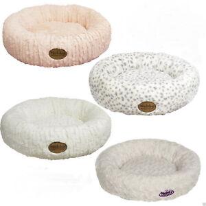 Katzenbett-Hundebett-Liegekissen-Kuschelbett-Hundekissen-Katzenkissen-rund-Donut