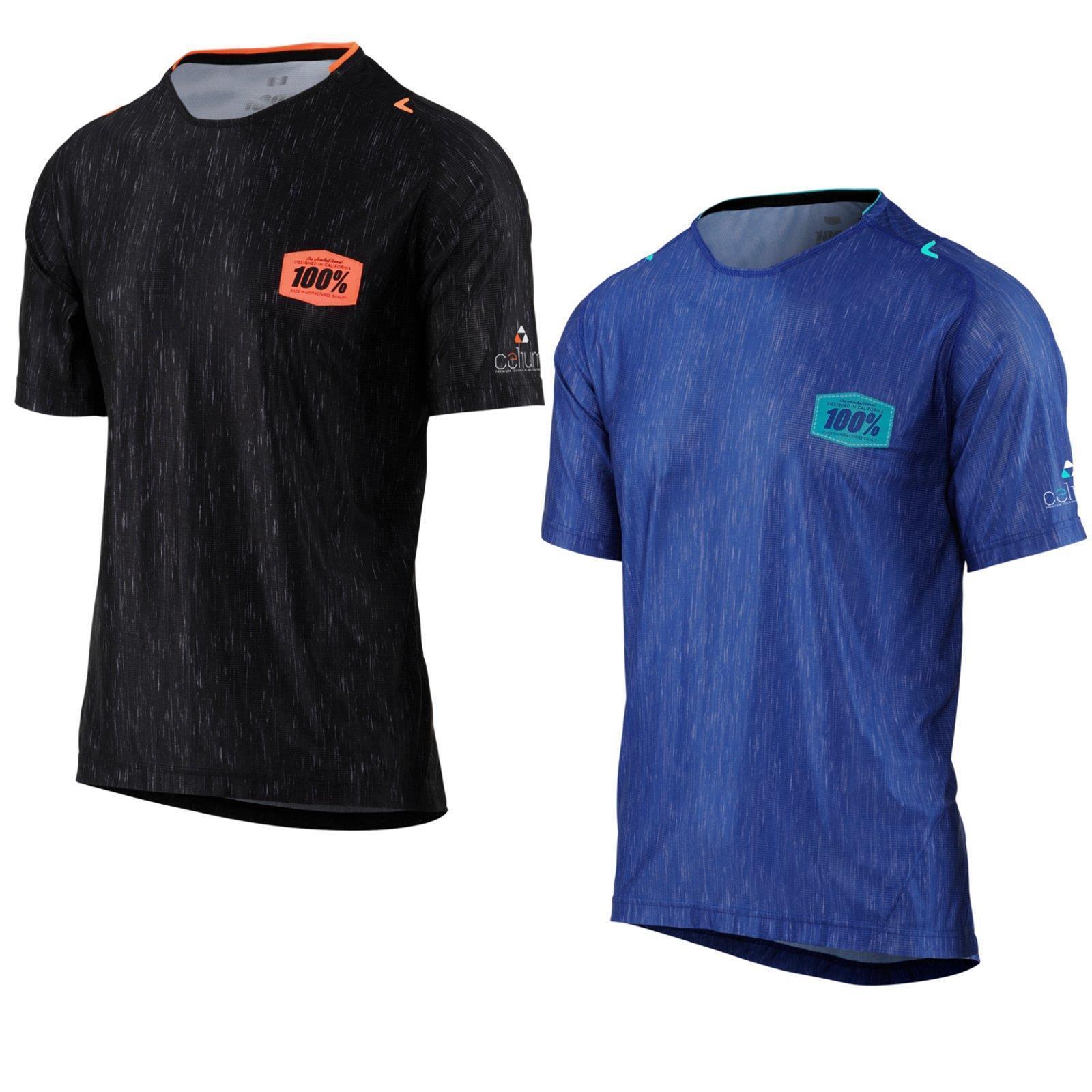 100% Prozent Celium Jersey Shirt Trikot Enduro Trail Mountain Bike MTB Kurzarm