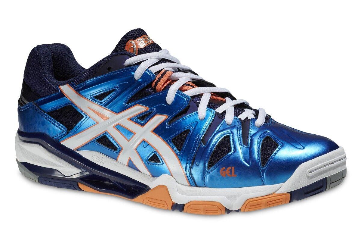 chaussure volley Asics gel Sensei 5 niedrig Herren B402Y-4101 Ende Serie