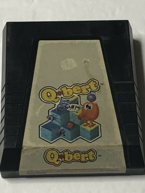 Qbert (Atari 2600, 1983) Game Cartridge Only FREE SHIPPING! TESTED!
