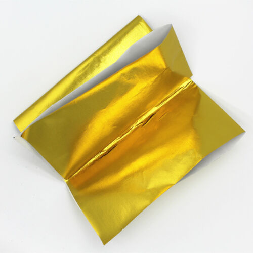 Self Adhesive gold Aluminium Reflective Cloth Insulation Heat Shield Sheet Wrap