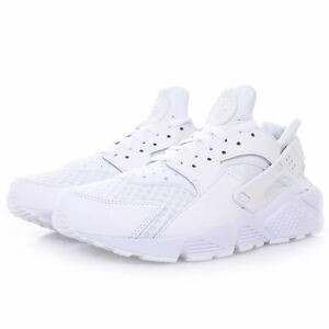 new concept f6cf8 dfff6 Image is loading Nike-Air-Huarache-Mens-WHITE-Trainers-Running-Shoes-