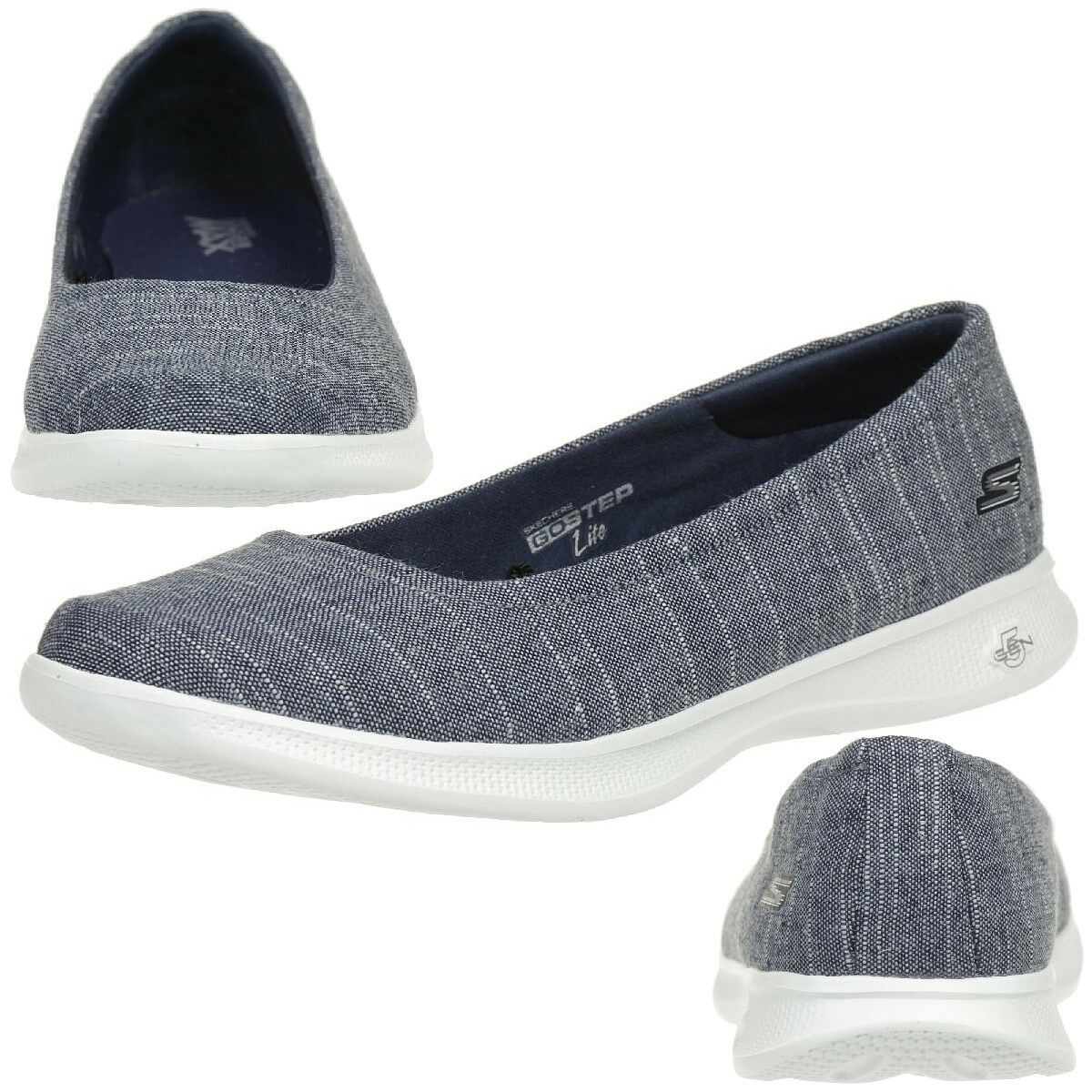 Los zapatos más populares para hombres y mujeres Descuento por tiempo limitado SKECHERS GO STEP Lite BLUSH mujer Zapatos De Verano Sin Cordones Mocasines nvw