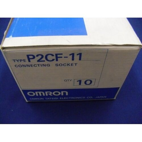Connessione socket P2CF-11 OMRON P2CF11