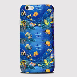 huge selection of f6311 08daf Details about Aquarium Fish Dory Sharks Ocean Water Sea Animals Phone Case  Cover