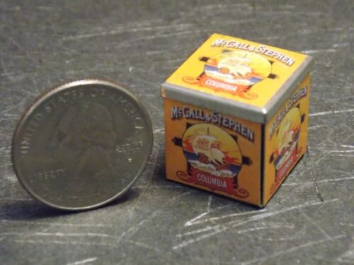 Dollhouse Miniature Biscuits Cookie Tin 1:12 one inch scale E29A Dollys Gallery