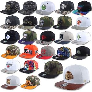47-Brand-Snapback-Cap-NHL-Unisex-Kappe-Blackhawks-Kings-Ranger-Stars-Penguins-1