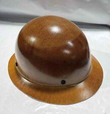 No Suspension Msa 475407 Natural Tan Skullgard Hard Hat