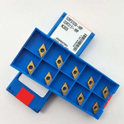10pc DCMT070204 HMP NC3020 carbide insert DCMT21.51 blade turning tool for SDJCR