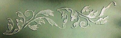 Wall Stencil, Plaster Stencil, Furniture Stencil, Balborough